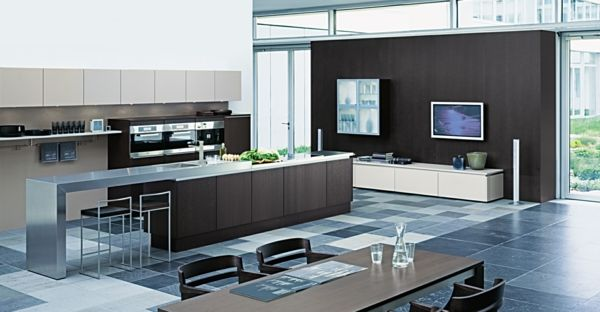 Kitchen islands on wheels functional and modern