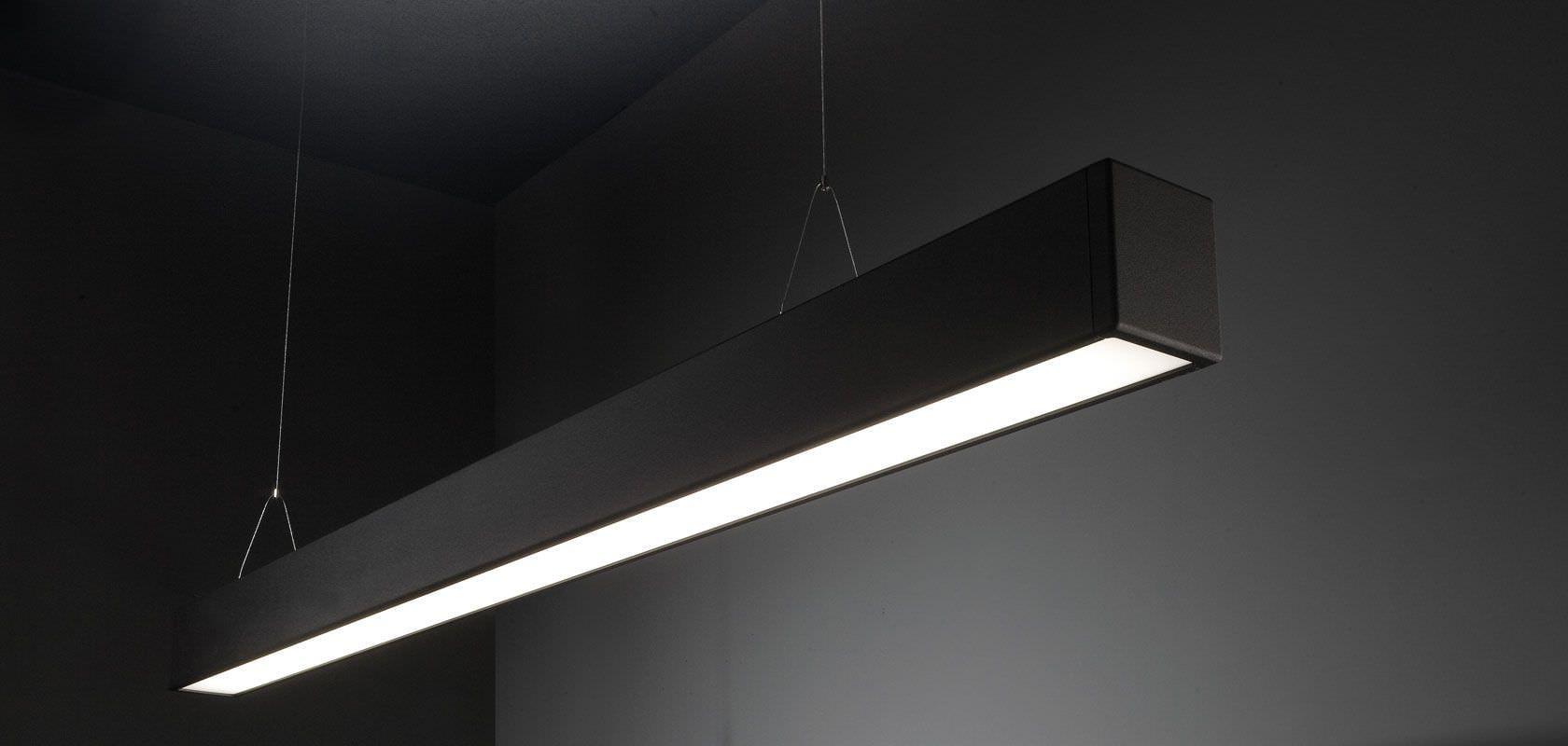 suspended linear lighting interesting linear suspension lighting