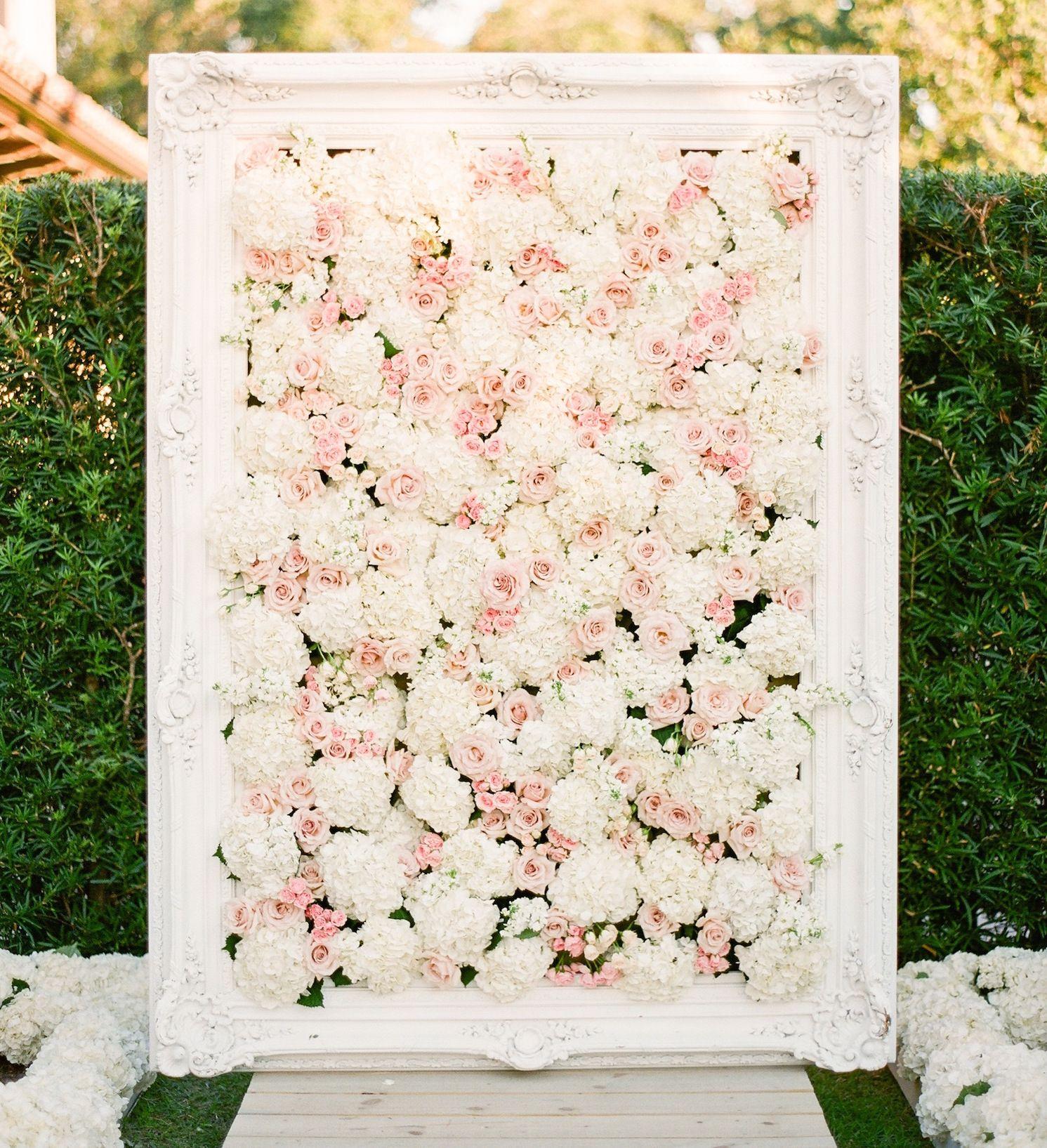 15 Hydrangea Flower Arrangements For Your Wedding Flower Wall Wedding Hydrangea Flower Arrangements Flower Arrangements