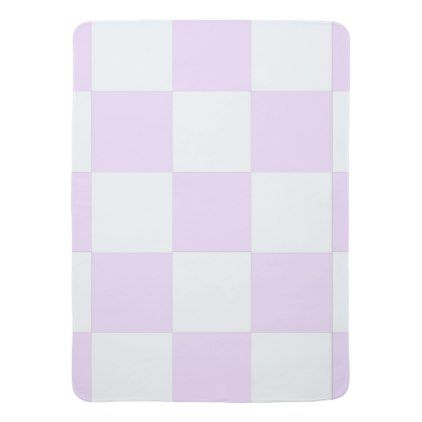 Baby Pink Checkerboard Baby Blanket - pattern sample design template ...