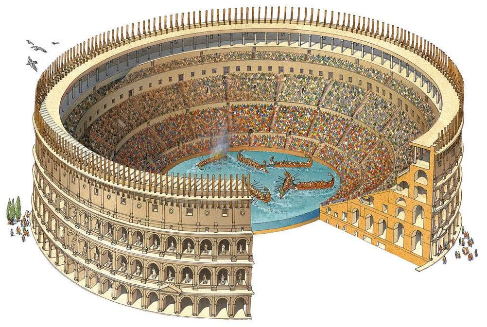 the colosseums role in ancient roman Say what you will about violence in american football, but the coliseum of ancient rome may have been the single most barbaric sporting venue in human history.