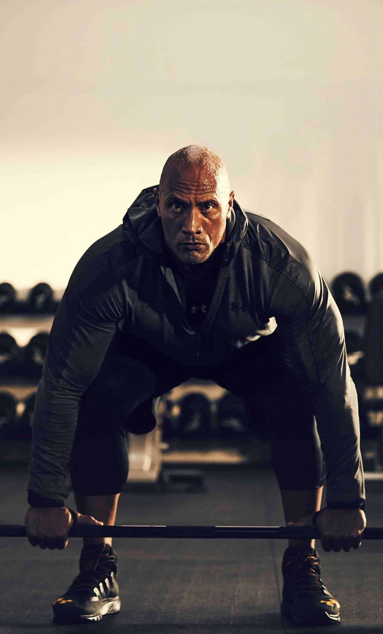 Exercise Dwayne Johnson Under Armour Celebrity 1280x2120 Wallpaper Dwayne Johnson Workout The Rock Dwayne Johnson Dwayne Johnson