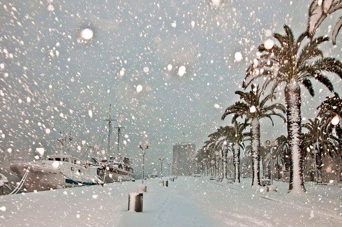 Croatia in the winter