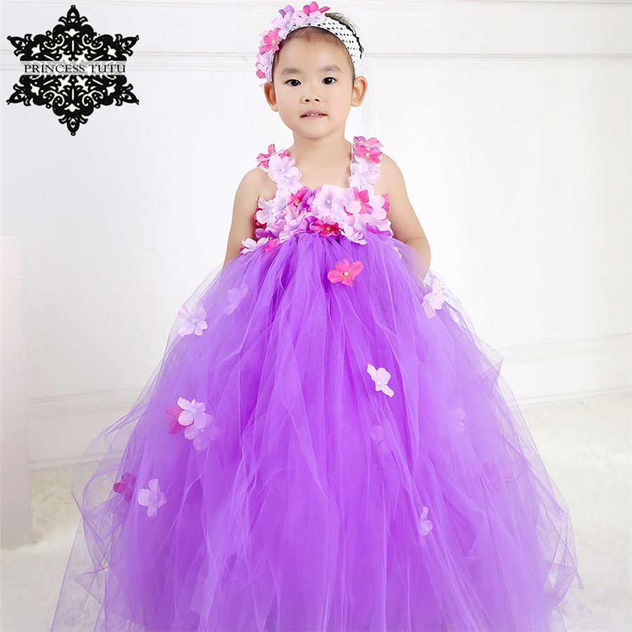 Click to buy ucuc princess tutu purple teenager girl dresses for