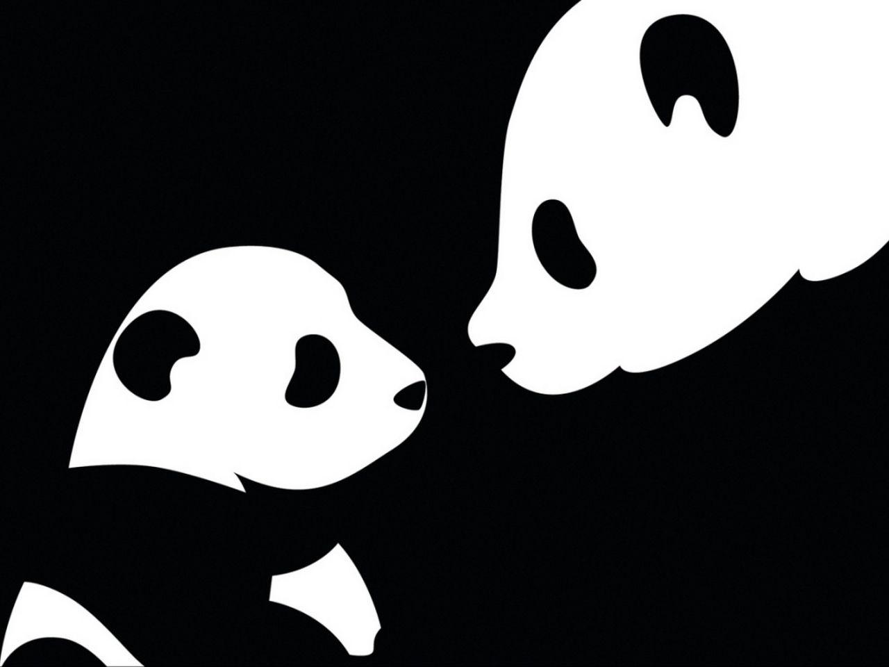 Images fonds d cran de dessin de panda vecteur fond for Fond ecran cellulaire