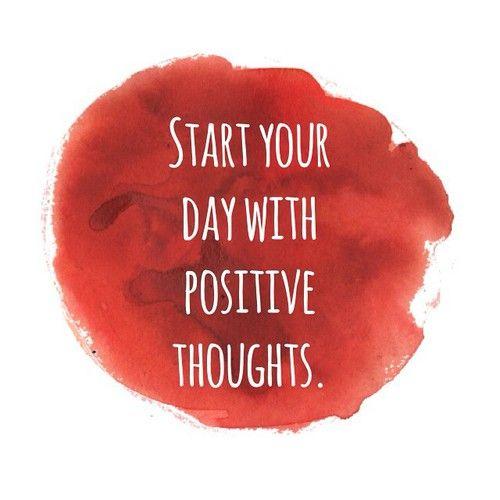 (ツ)ᐝ positive thoughts.
