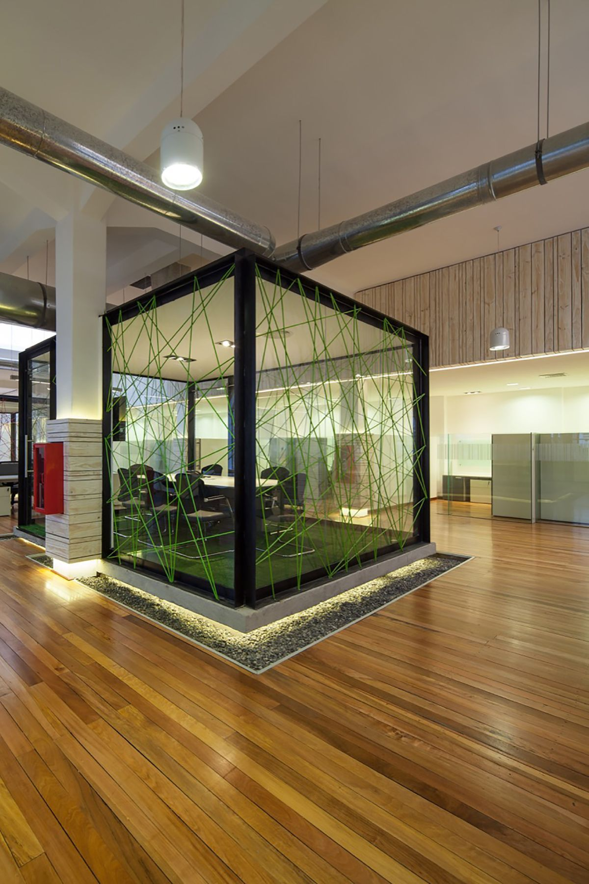 Telecommunication Room Design: Inspiring Office Meeting Rooms Reveal Their Playful