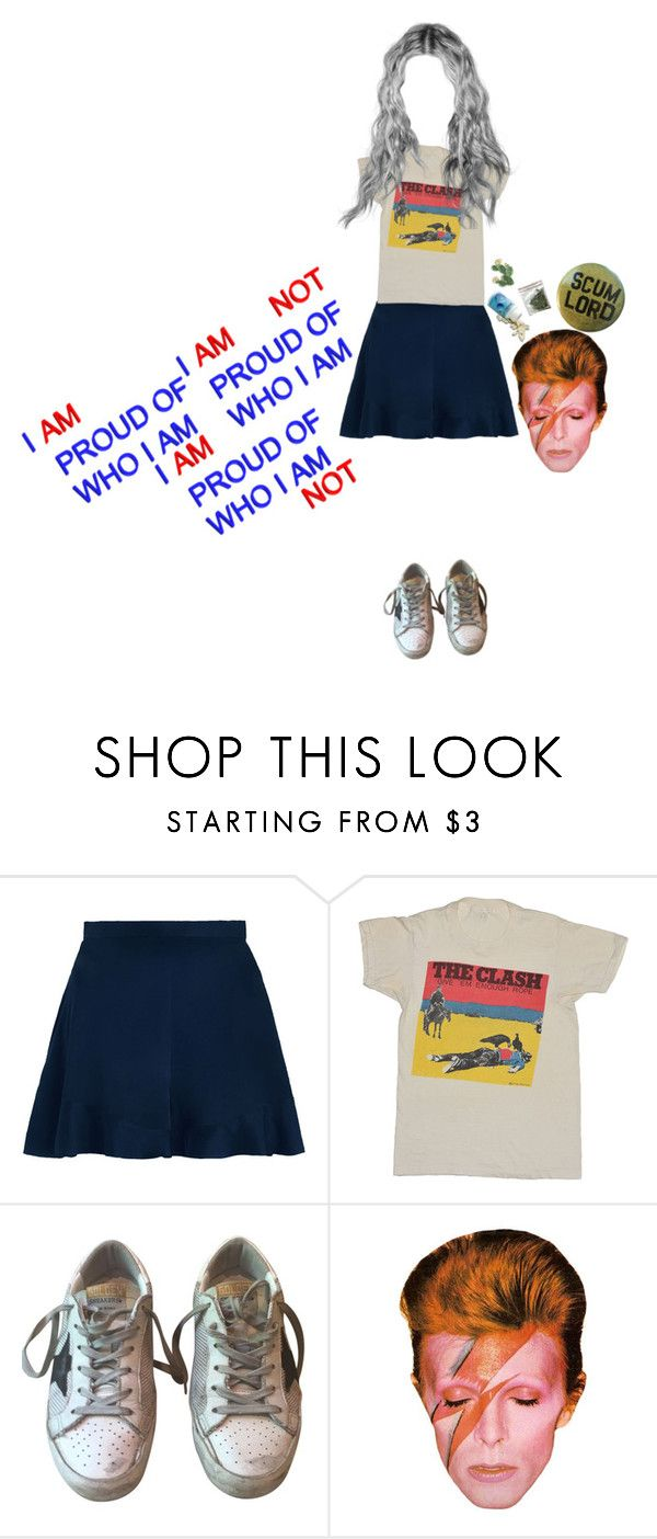 """""""i am i am not"""" by ohsol0vely ❤ liked on Polyvore featuring Zimmermann and Golden Goose"""