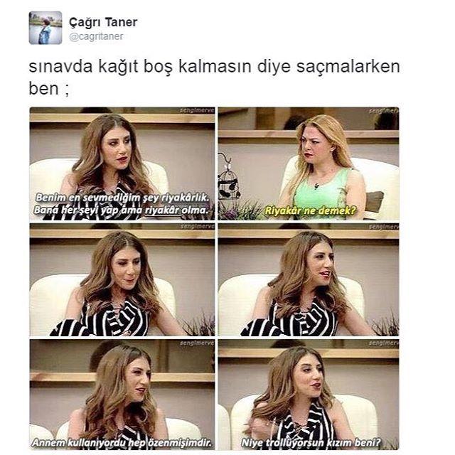 Instagram Photo By Cagri Taner Apr 16 2016 At 12 32pm Utc Komik Seyler Komik Alintilar Komik Capsler