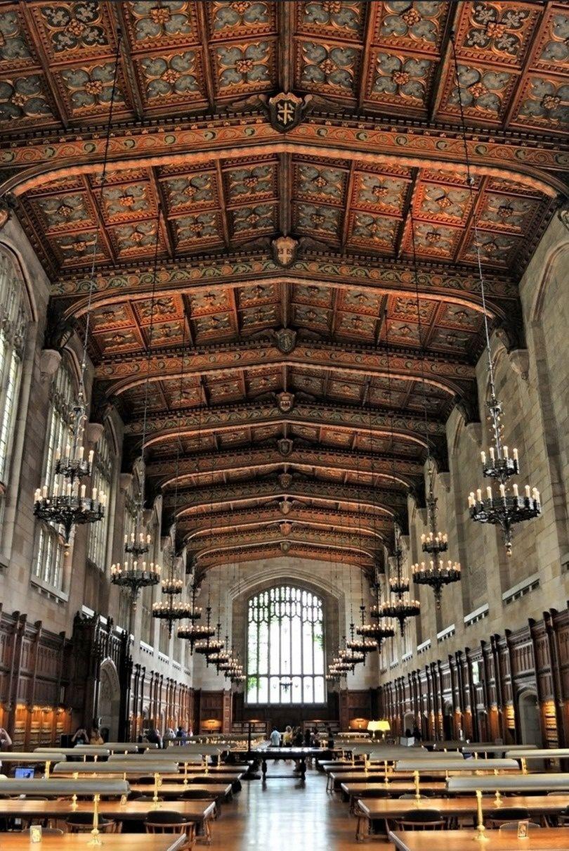 University of Michigan, Law Library - Ann Arbor, Michigan, USA