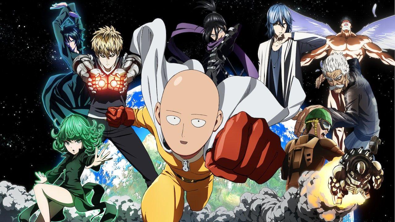 One punch man anime anime art beautiful netflix anime