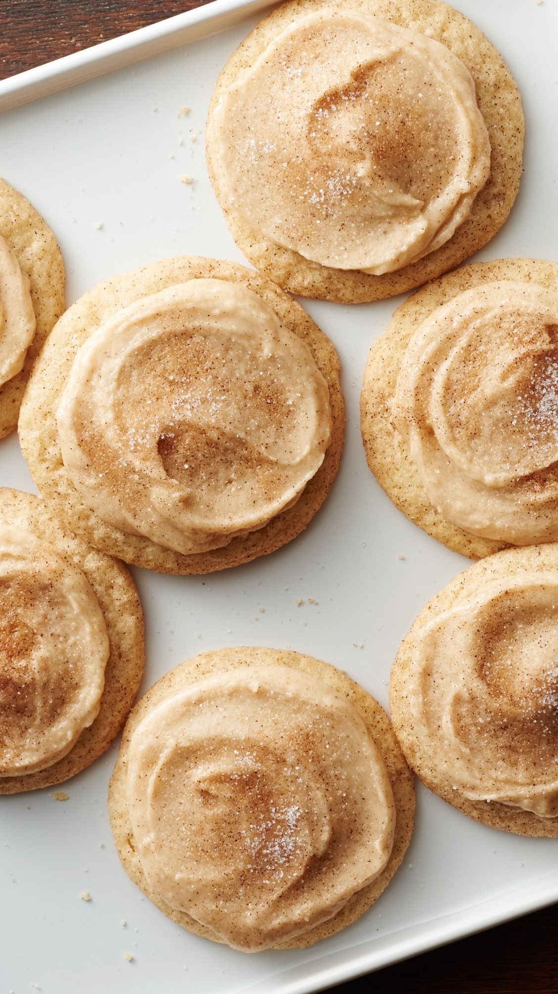 Brown Butter Snickerdoodles #holidaydesserts