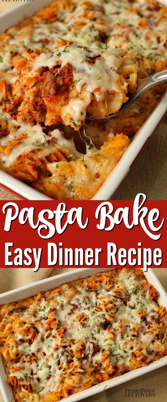 Easy Pasta Bake Recipe