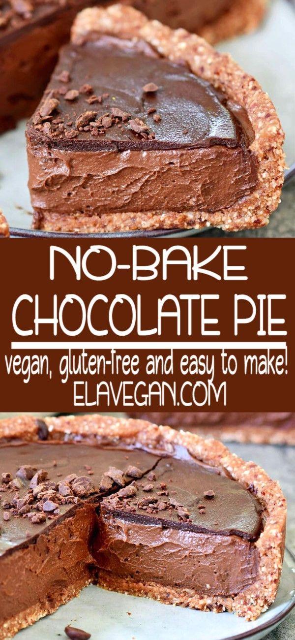 Photo of The Best Vegan Chocolate Pie