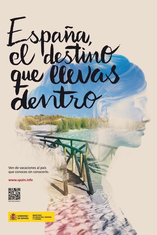 Espa a el destino que llevas dentro carteles tur sticos for Destinos turisticos espana