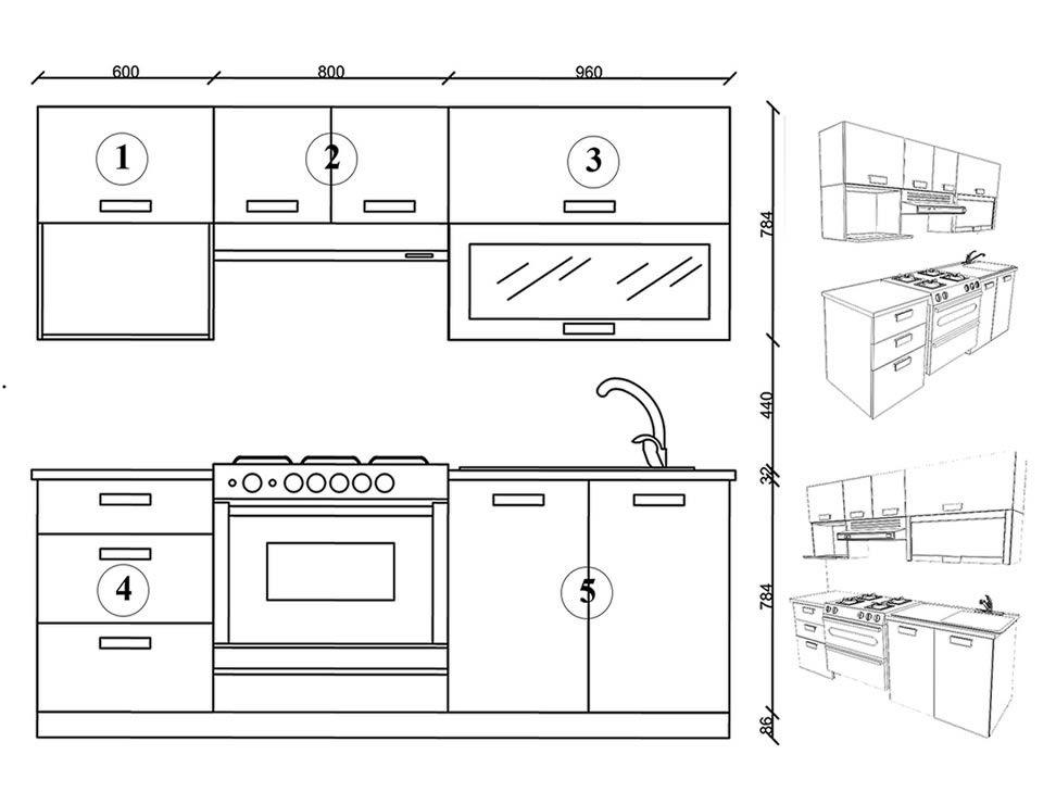 Cocina integral trendy m naco derecha liverpool es parte - Medidas estandar muebles cocina ...