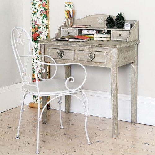 Secretaire Camille Maisons Du Monde Schreibtisch Holz Schreibtisch Tisch