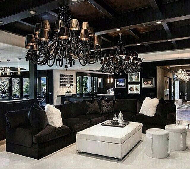 luxury mansion living room - Mansion Living Room