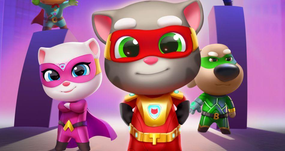 Talking Tom Hero Dash Is an Actionpacked, Superhero