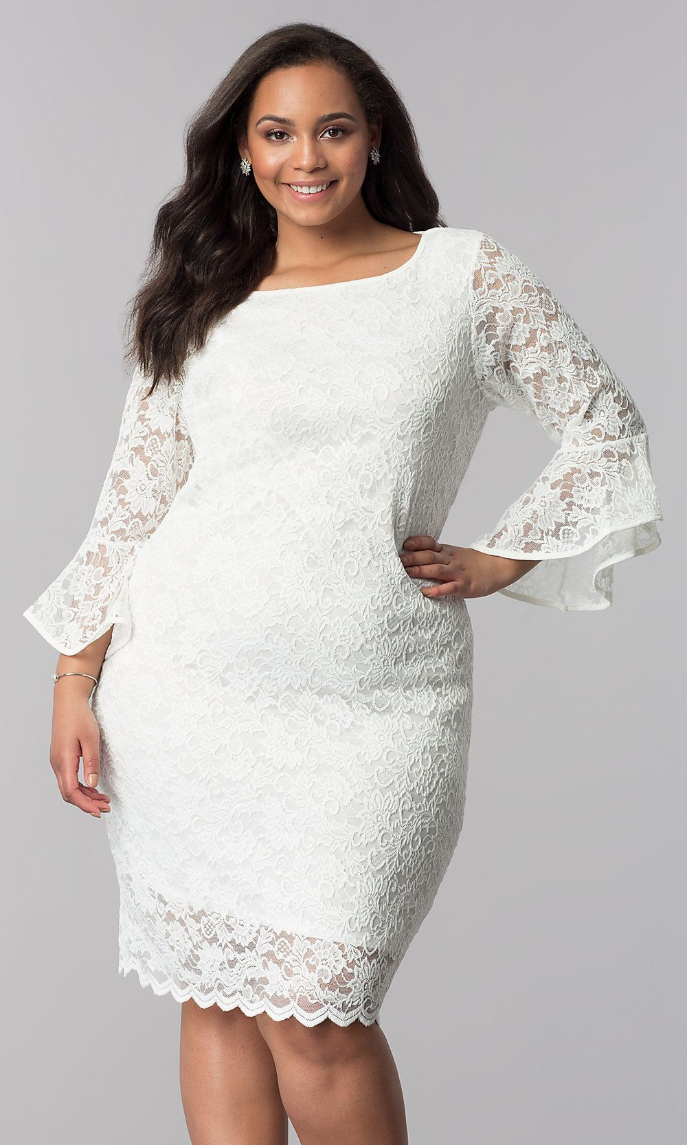 11+ White lace party dress information