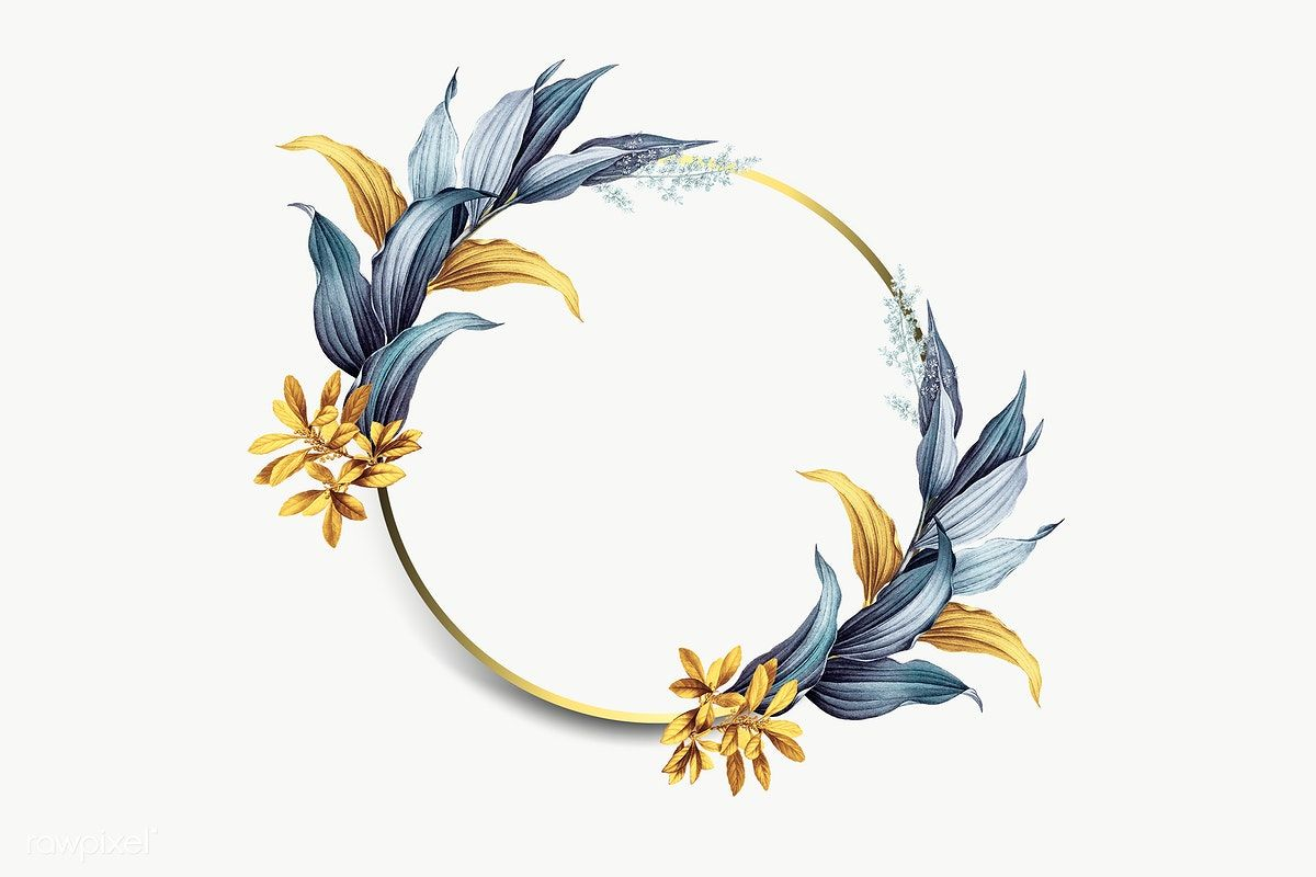 Golden Circle Frame Classic Style Style Luxury Png And Vector With Transparent Background For Free Download Circle Frames Frames Design Graphic Frame Border Design