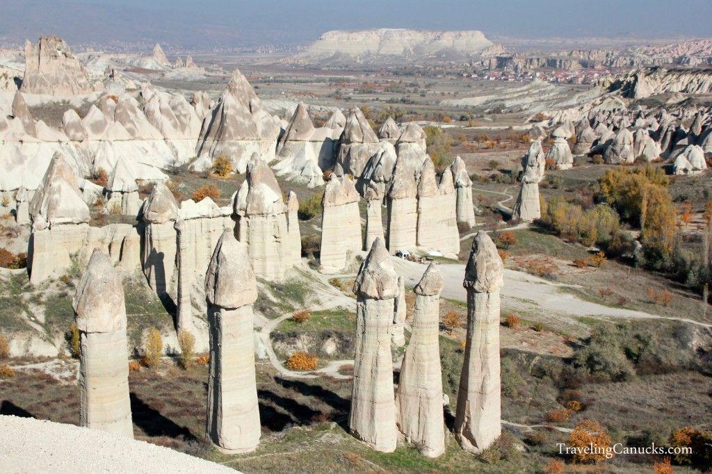 Love Valley in Capadoccia