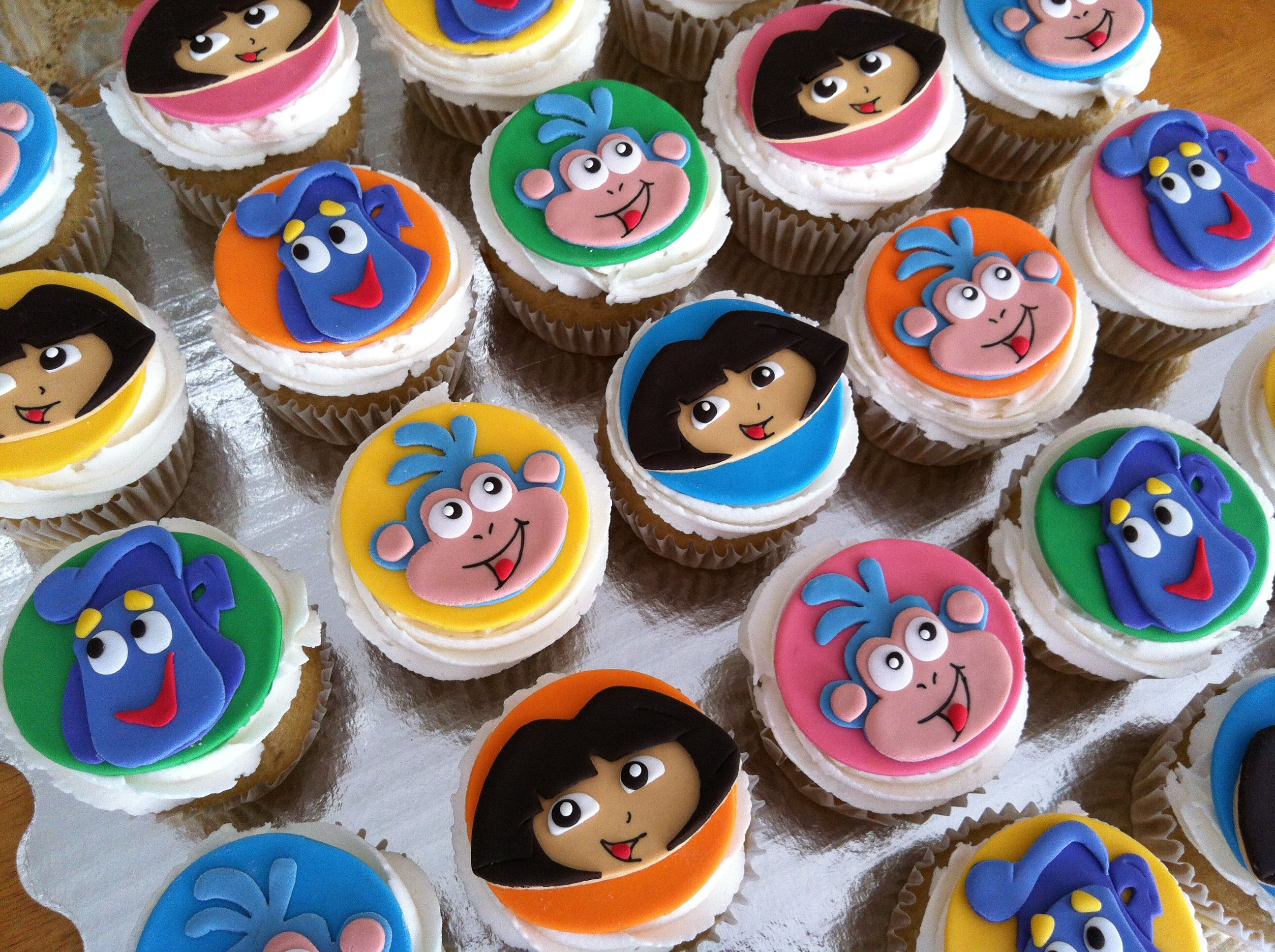 Dora\'s cupcakes | Party Ideas | Pinterest | Cake, Birthdays and Dora ...