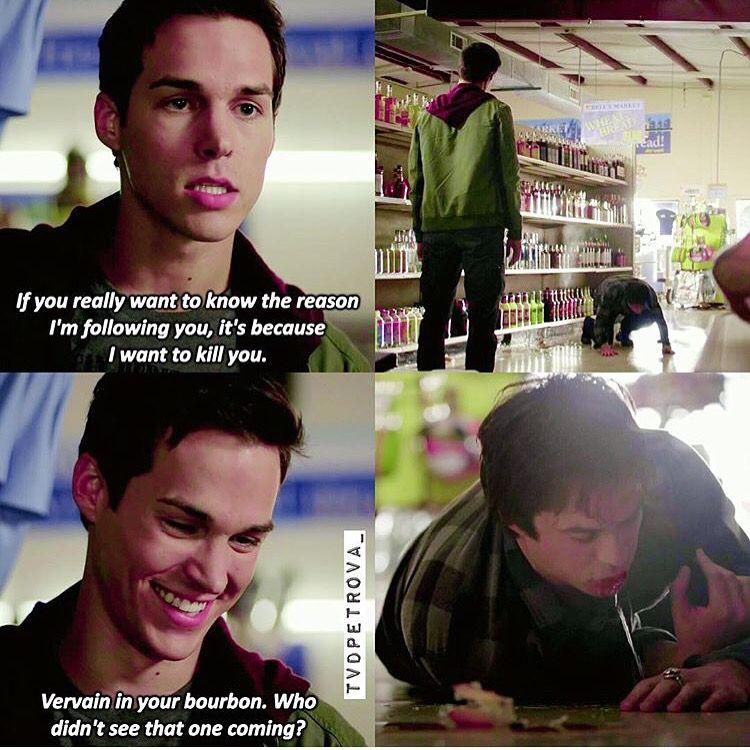 #TVD The Vampire Diaries Kai & Damon
