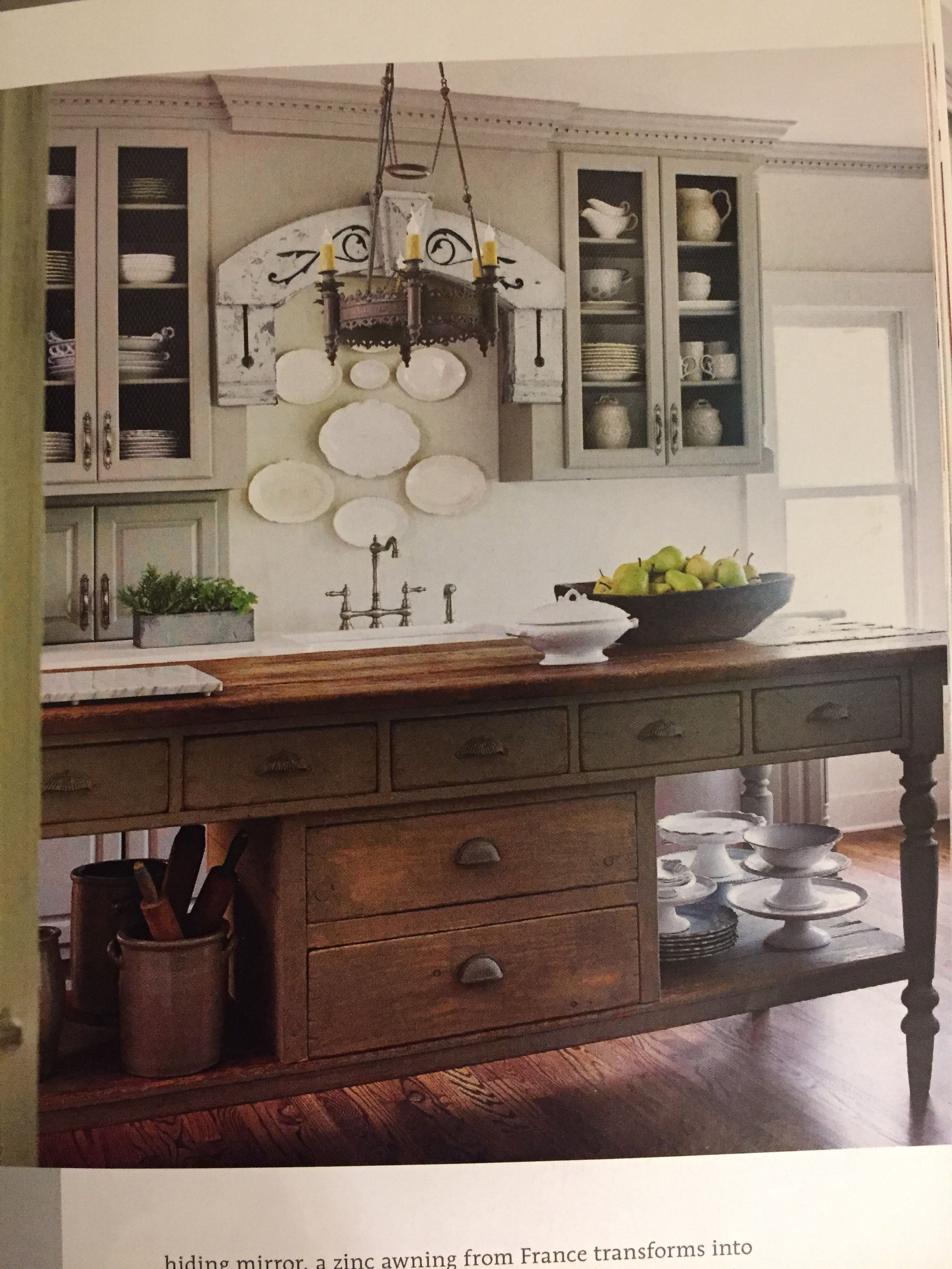 Pin by angeliquelivingantik on Lacey Inspiry   Antique kitchen ...