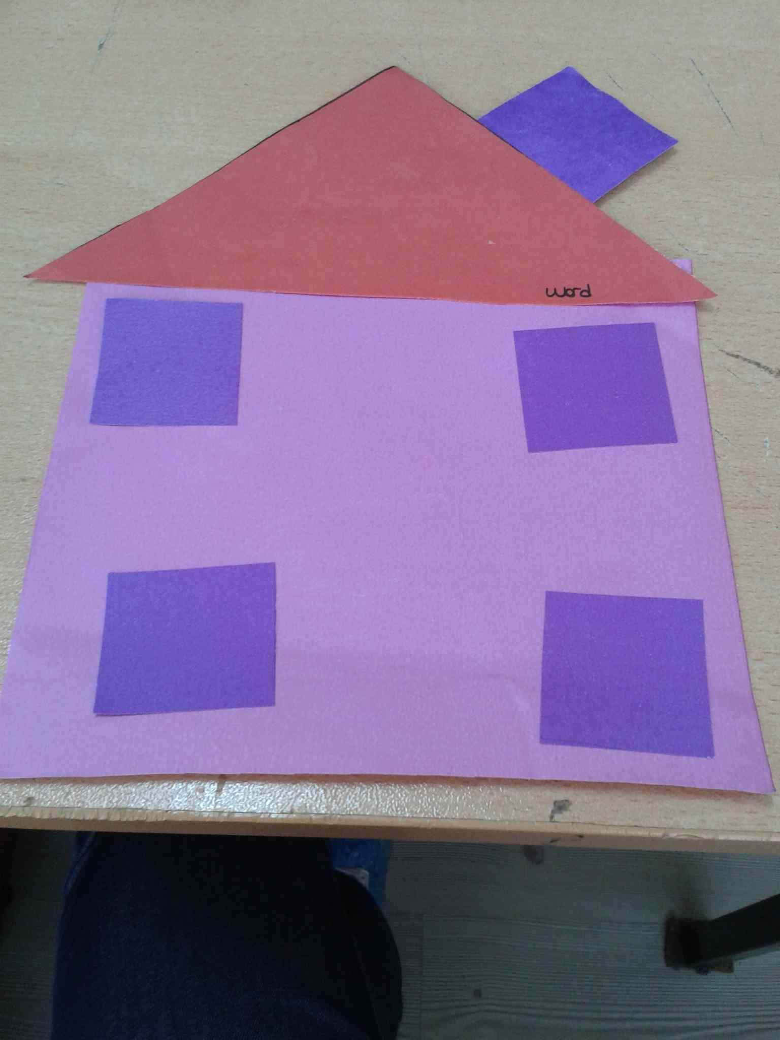 Shapes House Craft