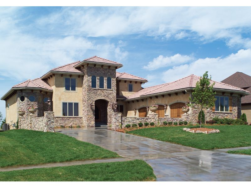 House Plan House Plans And More Tuscan Style Homes Tuscan House Mediterranean House Plans