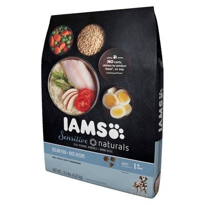 Iams Sensitive Naturals Adult Ocean Fish Dry Dog Food