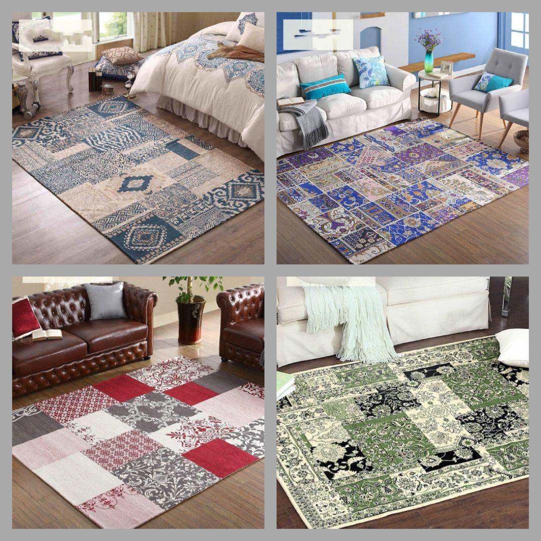 WINLIFE Big Living Room Carpet Kid Room Floor Mat Thick