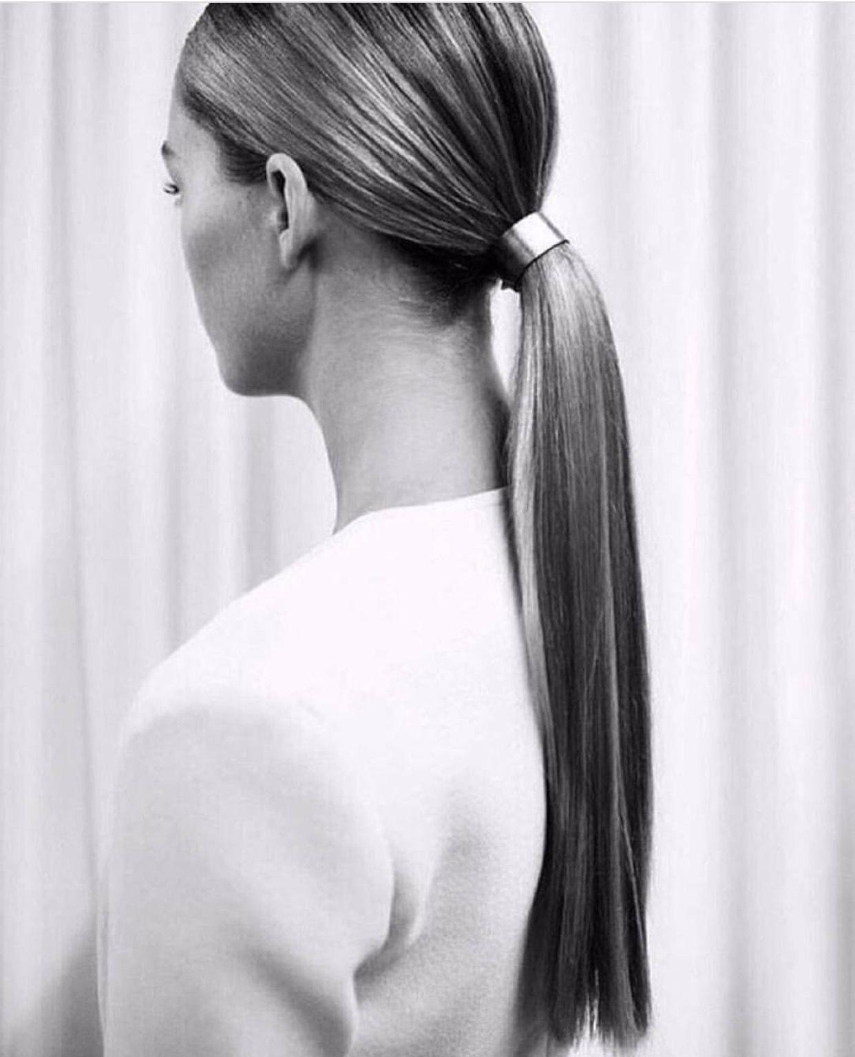 Wedding Guest Hairstyle: Wedding Guest Hairstyle Sleek Pony