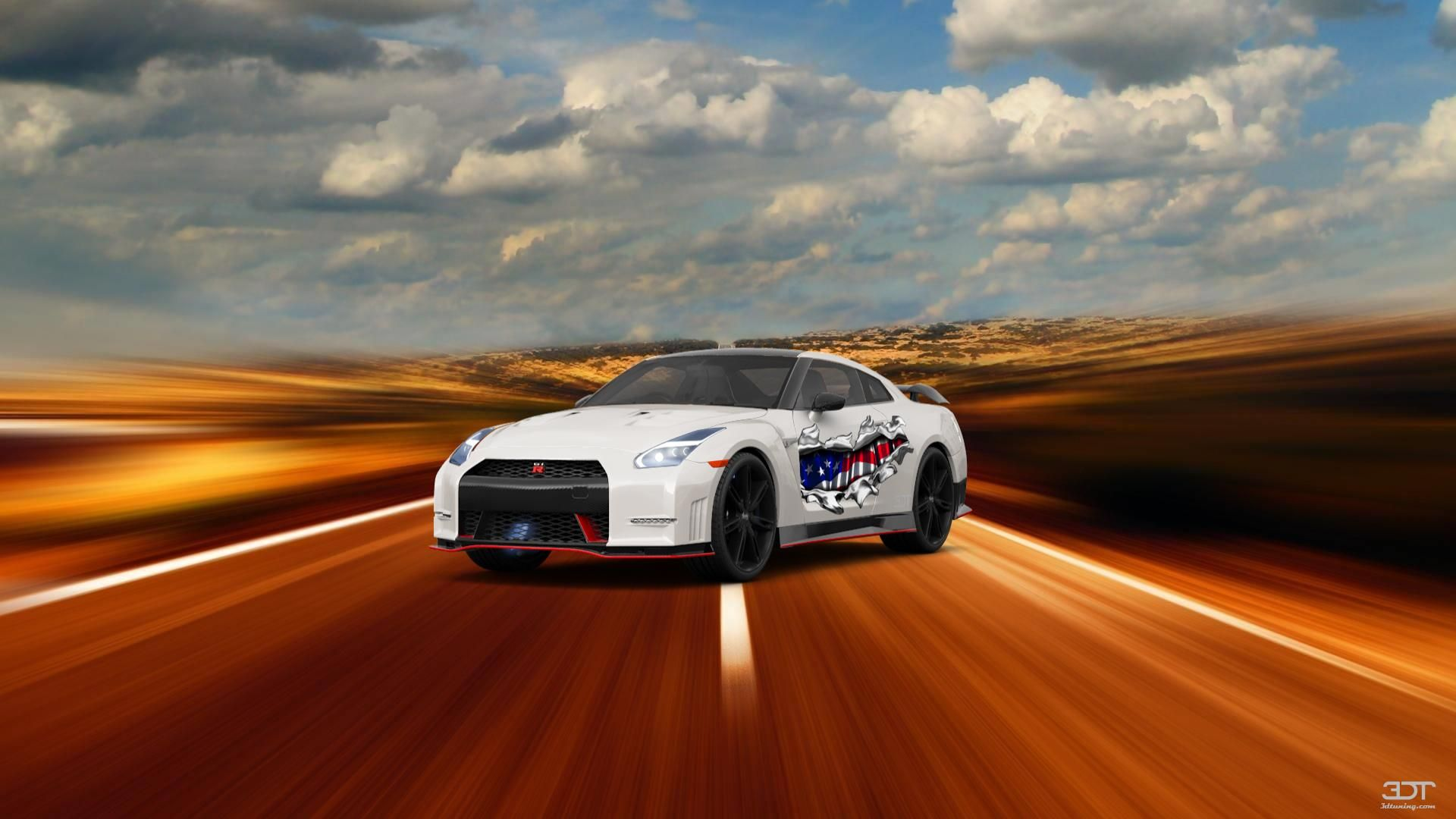 Checkout my tuning Nissan GT R 2110 at 3DTuning 3dtuning tuning