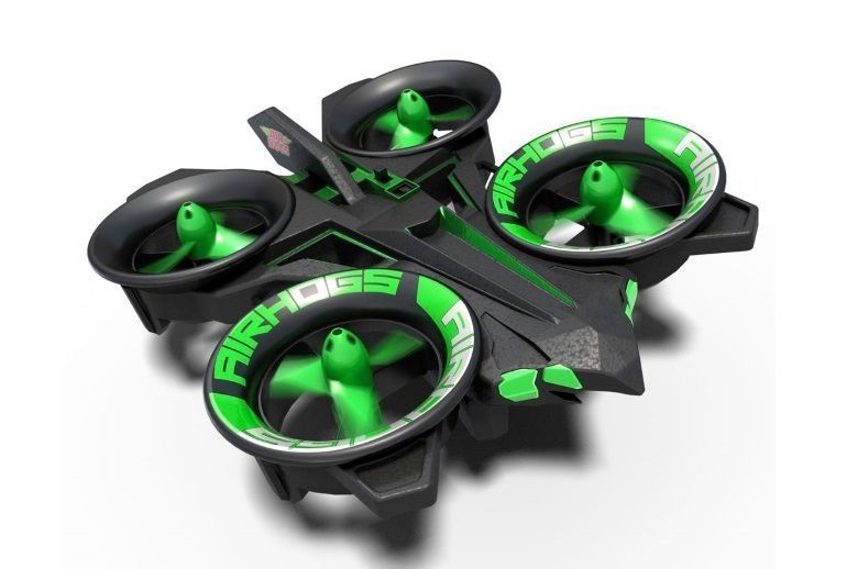 The Air Hogs RC Elite Helix X4 Copter Is A Small Radio Controlled Quadcopter Designed