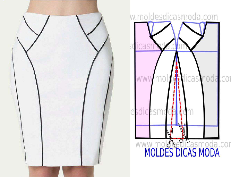 Lujoso Las Pautas De Las Faldas De Costura Bandera - Coser Ideas ...