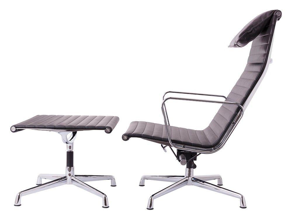 Lounge Stoel Hocker.Lounge Chair Ea124 Ea125 Antique Chair Lounge Chair Design Lounge