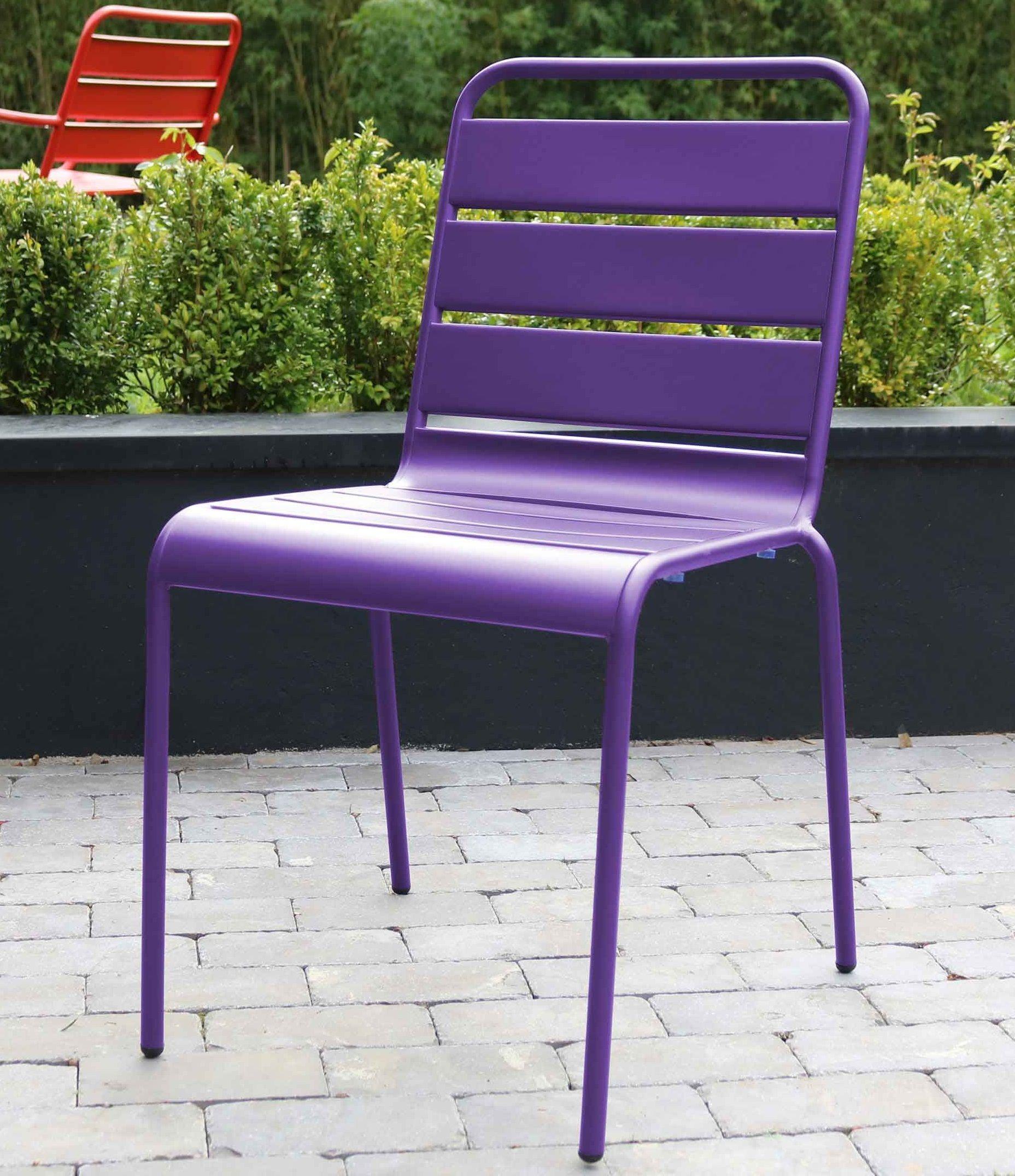 amazing price shopping save up to 80% Chaise de jardin en métal Palavas | MOBILIER PALAVAS ...