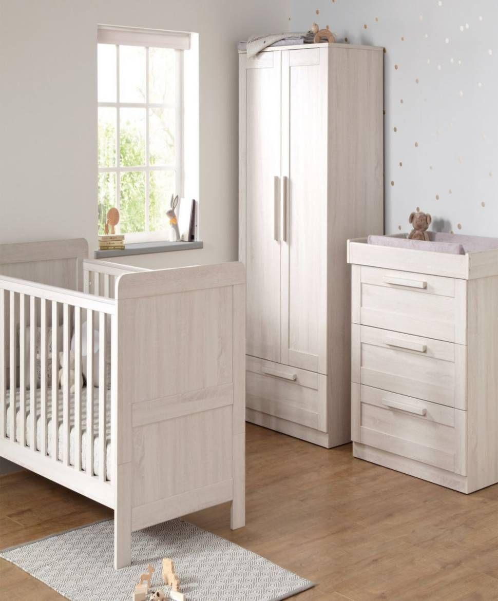 Atlas Cot Bed 3 Piece Nursery Furniture Set   Nimbus White | Mamas U0026 Papas