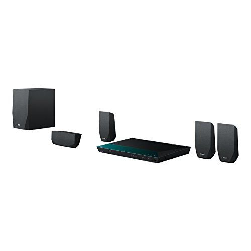Cheap Sony BDV-E2100 1000 W Home Cinema System (Bluetooth 3D 5.1 Channel Surround Sound Wi-Fi and NFC) - Black Best Selling