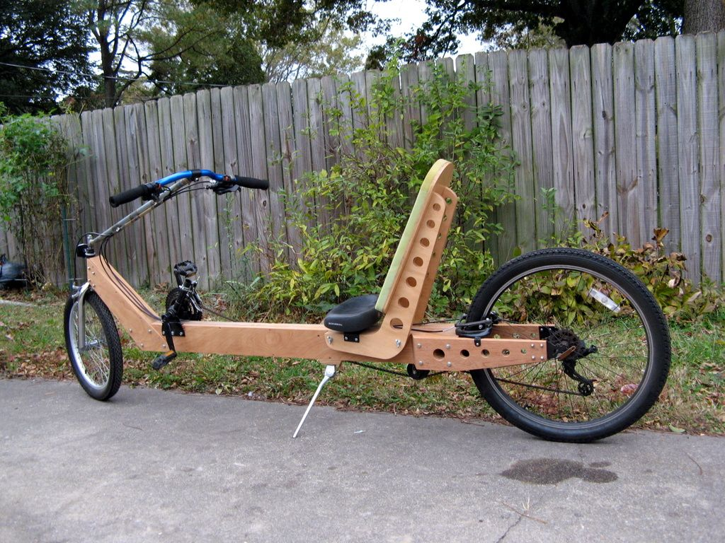 Plywood Frame Recumbent Atomic Zombie Bicycle Gallery Wood Bike Wooden Bicycle Wooden Bike