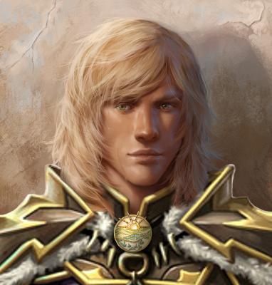 Blonde Paladin