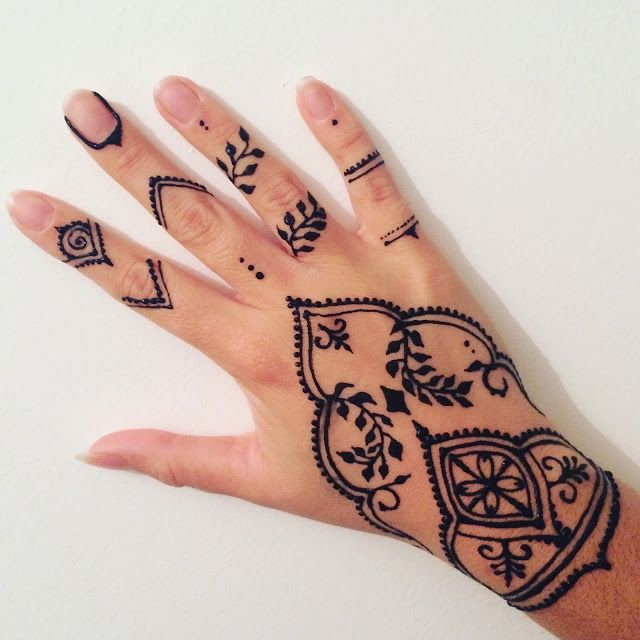 Massilia henna henna 10 henn pinterest henn - Henne simple main ...