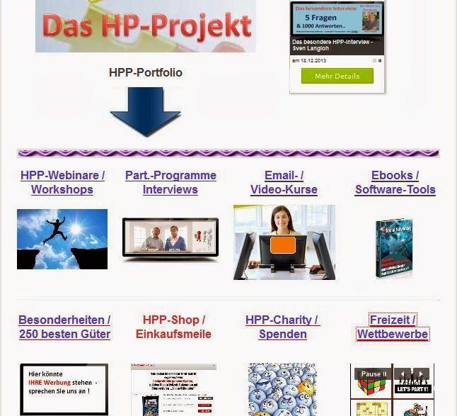 HPP - DAS Projekt: Unser Gemeinschaftsprojekt
