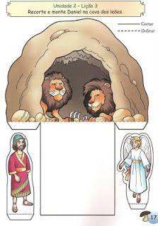 Daniel Lions Den Preschool Bible Lessons Sunday School