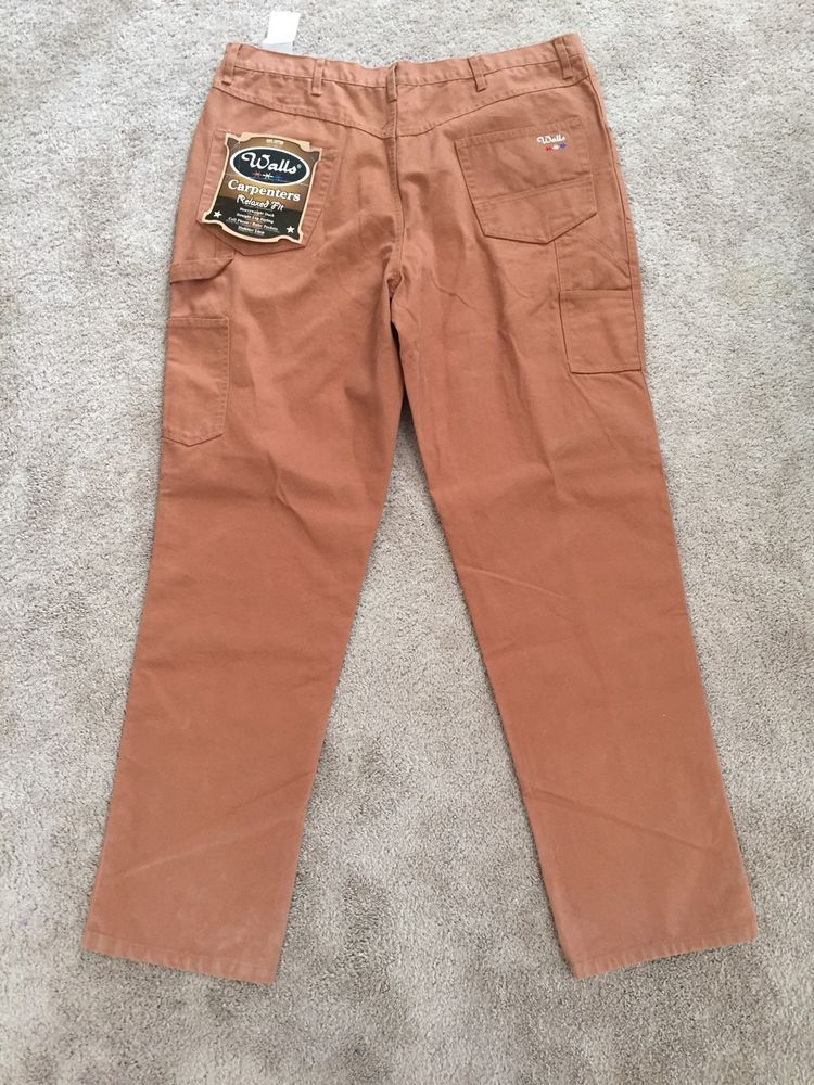 men s wall s carpenter work pants 42 x 36 relaxed fit nwt on walls insulated coveralls on sale id=57530