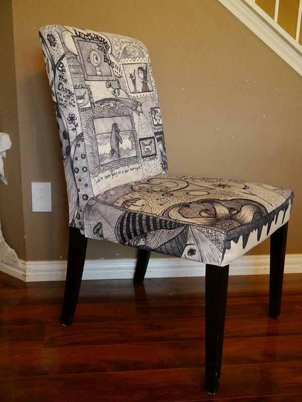 Our Chairs Are Pretty Beaten Up From Abuse By Two Little Viking Children,  So I · ScotchgardFabric ...
