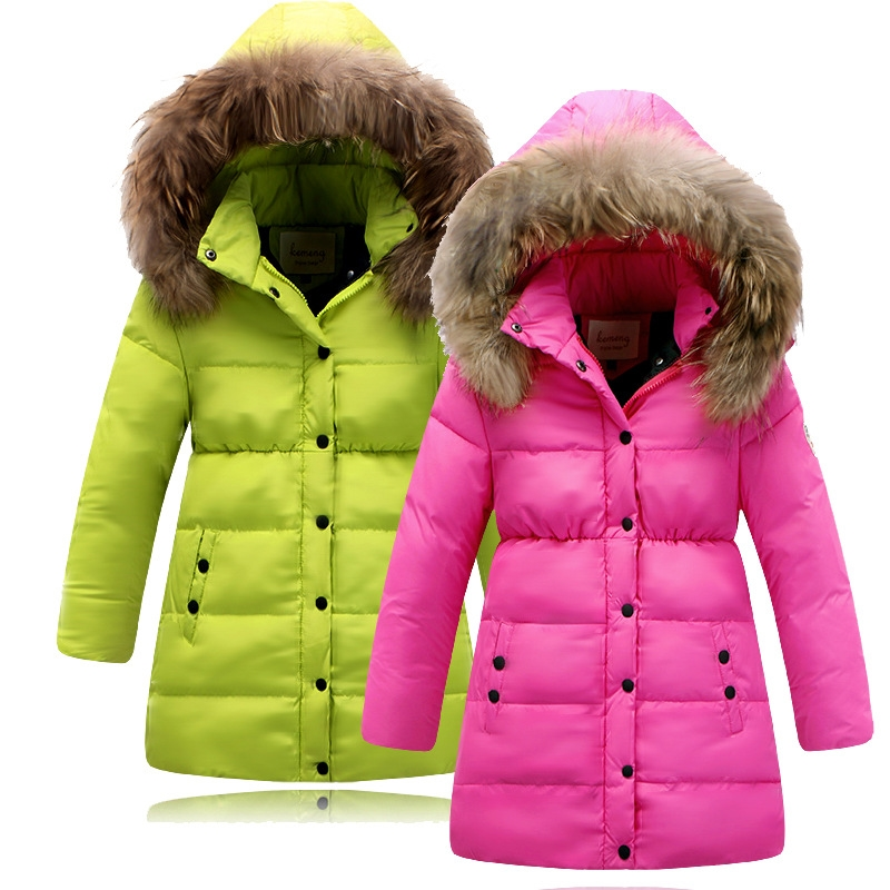 34.24$) Buy here - Children Winter Down Jacket For Girls Natural ...