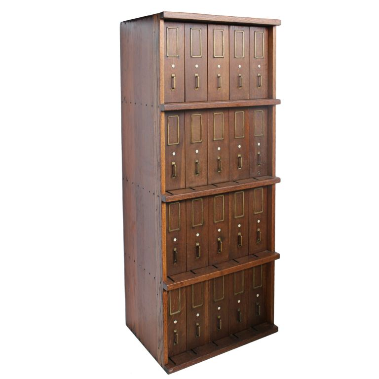 View this item and discover similar cabinets for sale at - Antique oak wood  filing cabinet with original brass hardware. We have two matching file  cabinets ... - Antique Oak Filing Cabinet With Original Brass Hardware Modern